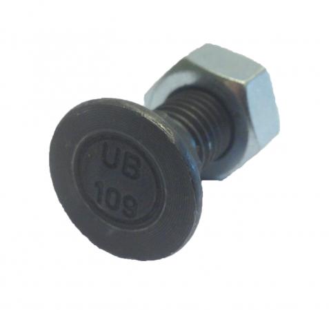 50 Stück Scharschrauben DIN 608 M12 x 50 Güte 10.9